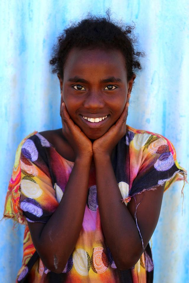 Cibutili Genç Kız Portre Fotoğrafı