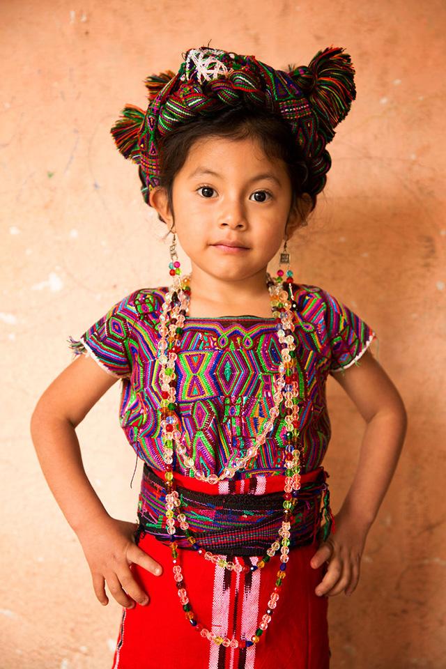Maya Kızı Portre Fotoğrafı